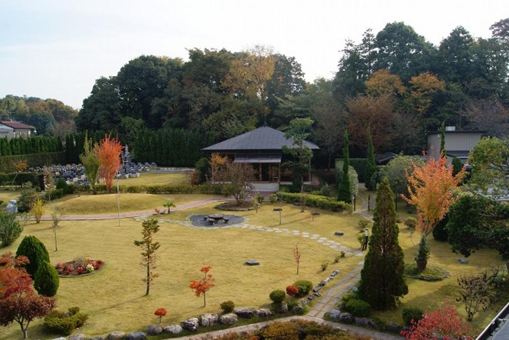 秋の庭園1