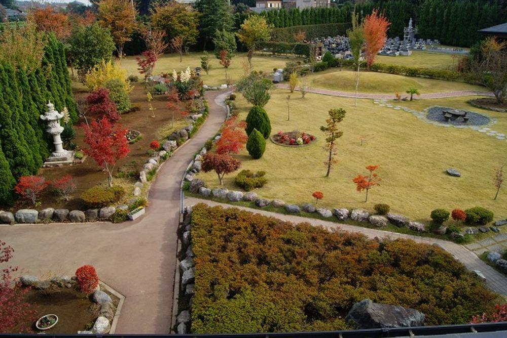 秋の庭園2